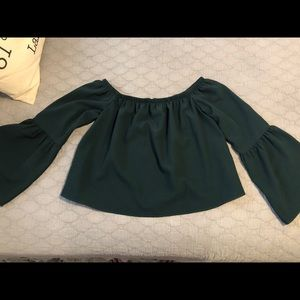 Green Gianni Bini Blouse